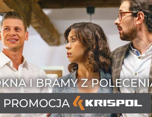 Okna i bramy z polecenia – promocja KRISPOL