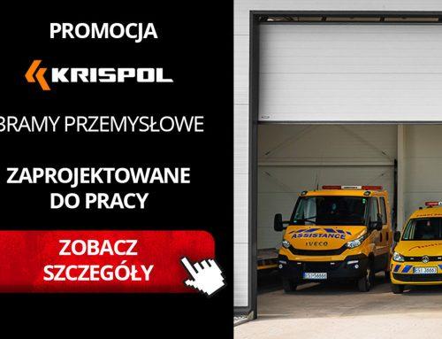 Promocja KRISPOL: Bramy przemysłowe zaprojektowane do pracy