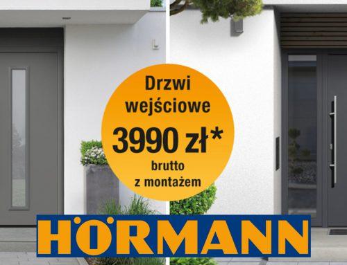 Promocja Hörmann : Drzwi ISOPRO w promocyjnej cenie